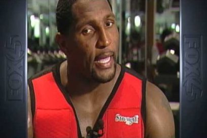 Fox 45 Ray Lewis Workout