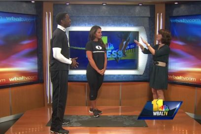 WBAL Fitness Segment, Monte talks about his online workouts and how everyone at home can access them!