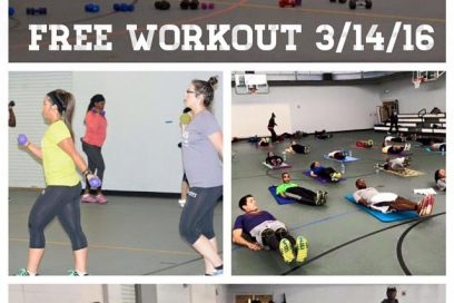 JOIN US FOR A FREE CLASS ON 3/14!