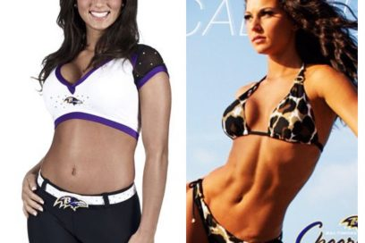 LINDSAY: RAVENS CHEERLEADER GOES FROM FAB TO AMAZING!