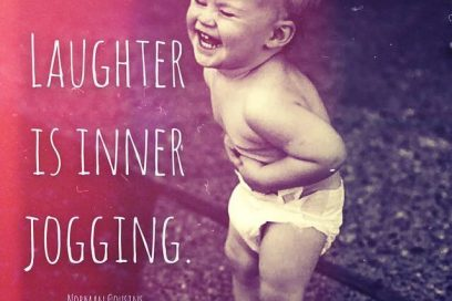 LAUGH OFTEN, LOVE HARD AND WORKOUT!