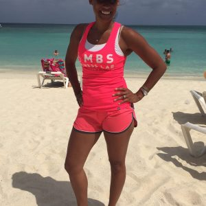 woman Posing on beach