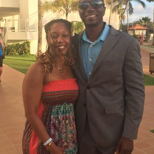 Celebrity Fitness Trainer Monte Sanders with woman