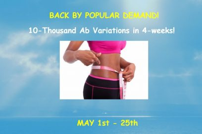 New 10-Thousand Abs Camp Starts May 1st!