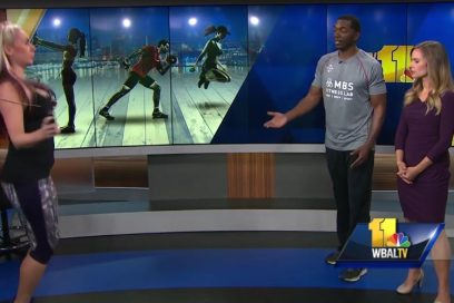 Working the Calf Muscle on WBAL!
