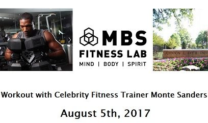 JOIN US IN CHARLOTTE, NC FOR A WORKOUT!