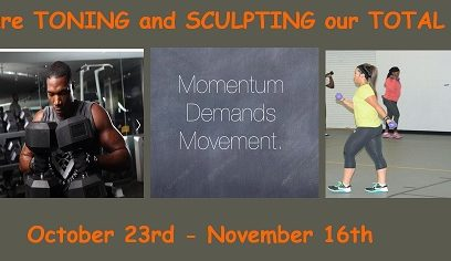 TONING & ABS SCULPT BACK BY POPULAR DEMAND!