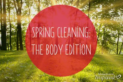 Five Tips For A Healthy Spring!