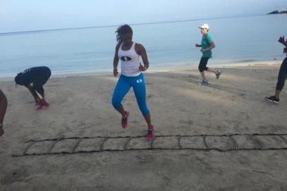 Beach Workout in Ocean City