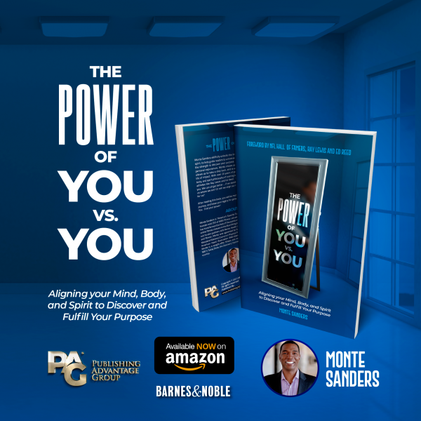 Image of the book by Monte Sanders the Power of You vs. You